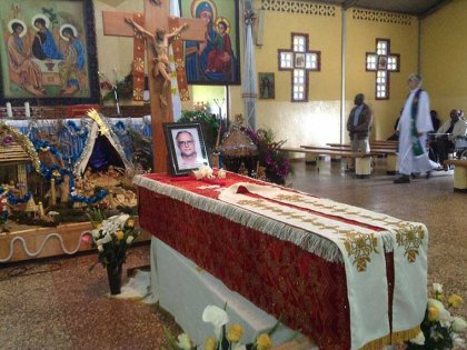 Message from Fr. Oscar Clavijo about the funeral of Fr. Carlos Domings