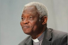 Hearing 'cry of the poor' is key message of 'Laudato si', Cardinal Turkson says