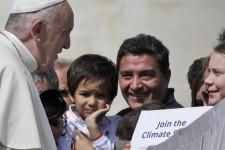 Clima, il Papa saluta Greta Thunberg: vai avanti!