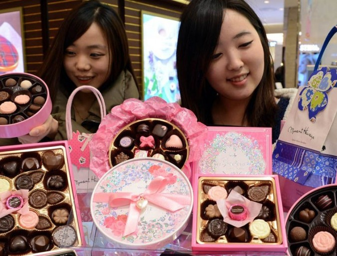 Valentine's Day in South Korea: the Loved, the Smitten and the Lonely