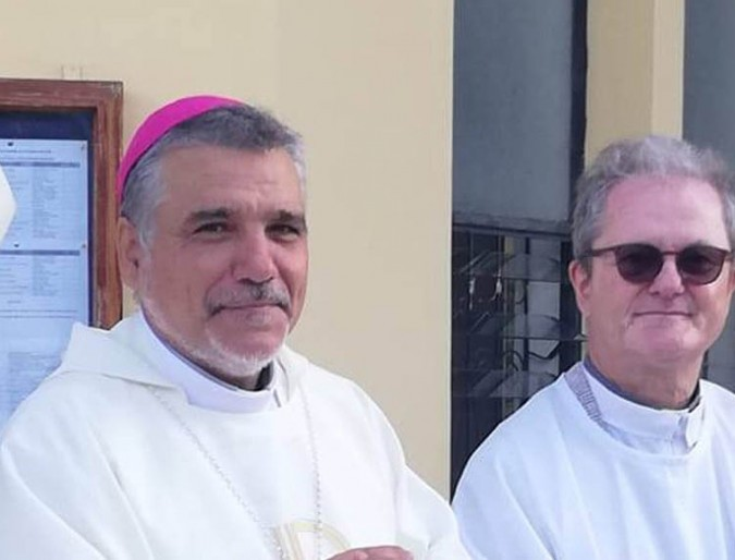 Ordained Bishop of the Tete Diocese Msgr. Diamantino Antunes IMC.