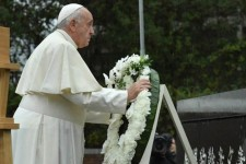 "Papa Francesco: ""Mai più Hiroshima e Nagasaki"""