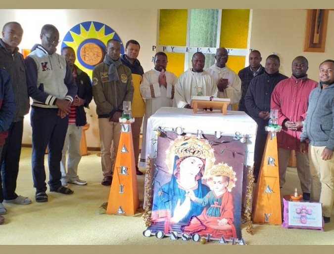 The feast of Our Lady Consolata celebrated under lockdown