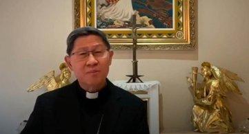 """Videomessaggio del Cardinale Tagle: """"dove sono i più bisognosi là si trovano i missionari"""""""