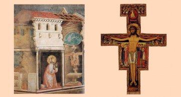 Una croce piena di gente: In silenzio davanti al crocefisso di San Damiano